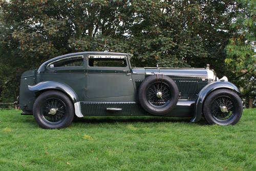 """Bentley """"Blue Train"""" by Petersen (1935)  Para saber más sobre los coches no olvides visitar marcasdecoches.org"""