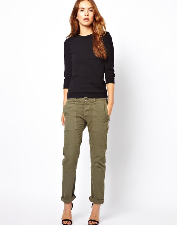 The perfect cargo pants