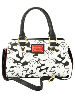 Loungefly Disney Mickey Mouse Hands Print Bag