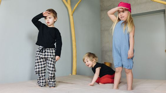 Pants BRAVE GRAY – Pan Pantaloni Summer Tribes 2015 collection for kids, light cotton pants. #fashion #kids #natural
