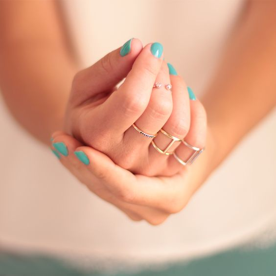Rings made of love // Sterling silver rings // Anillos de plata // www.nuups.com