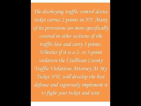 Sullivan County Traffic Violations Attorney At My Ticket Nyc Traffic Sullivan County County