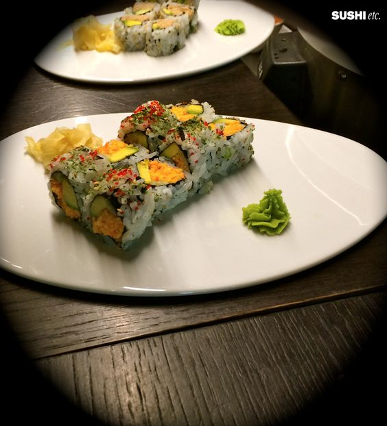 Our amazing California Rolls ready to delight you! https://www.facebook.com/pages/Sushi-etc/175118025844416?ref=hl