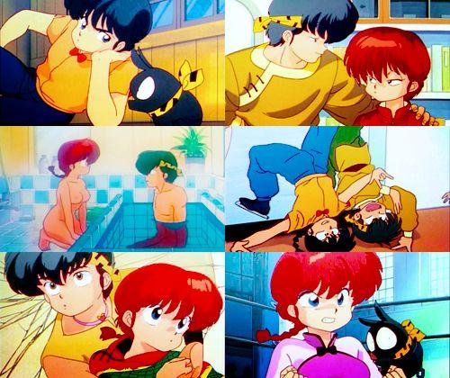 Ranma And Ryoga And P Chan Ryoga Hibiki Pinterest