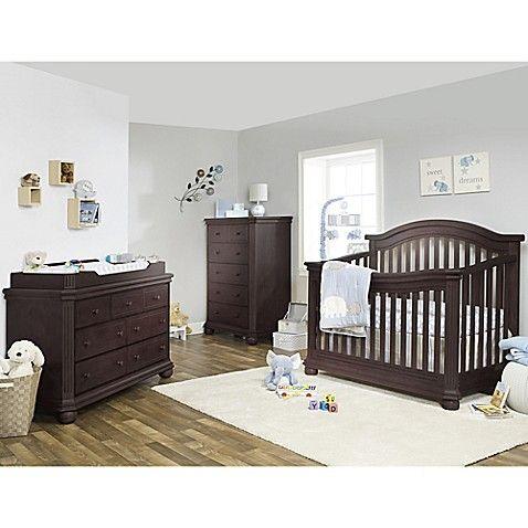 Sorelle Vista Elite Nursery Furniture Collection In Espresso
