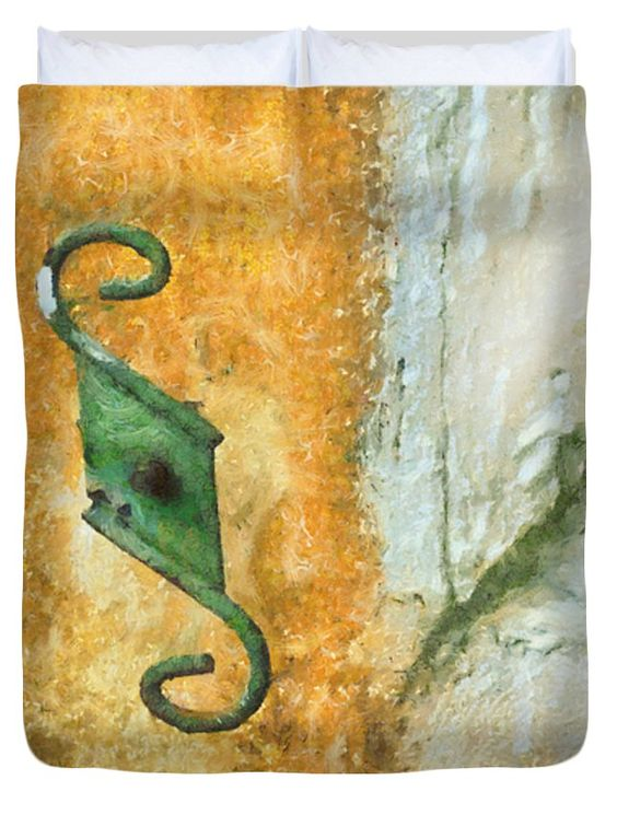 "Rusty Mediterranean Colors Queen (88"" x 88"") Duvet Cover"