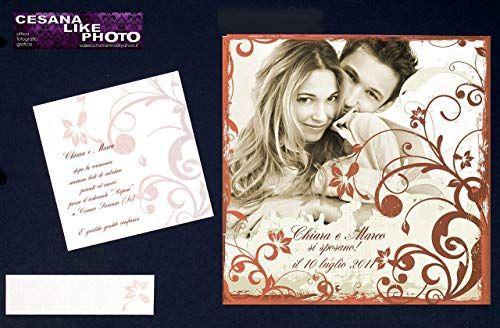 Partecipazioni Matrimonio Fotografiche.Partecipazioni Matrimonio Personalizzate Fotografiche Inviti