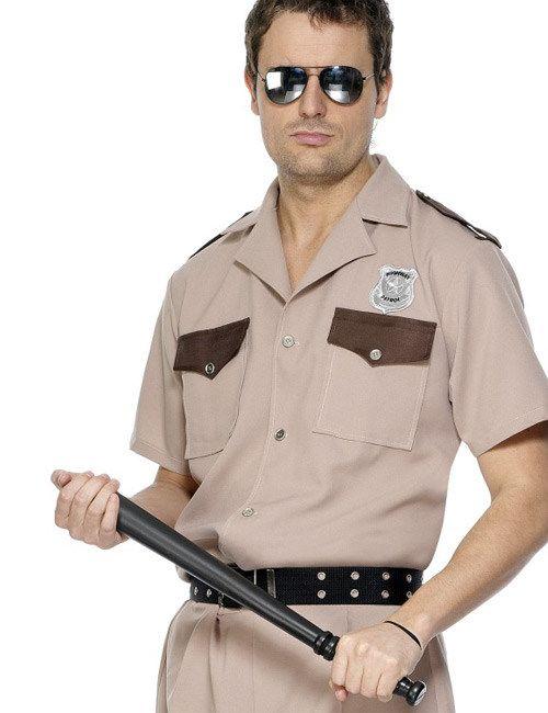 Polizist Schlagstock schwarz 52cm, aus unserer Kategorie Karneval Kostümzubehör. Mit diesem Schlagstock verschafft sich jeder Polizist im Handumdrehen Respekt. Ein grandioses Accessoire für jedes Polizei-Kostüm. #Faschingskostüm #Karnevalskostüm