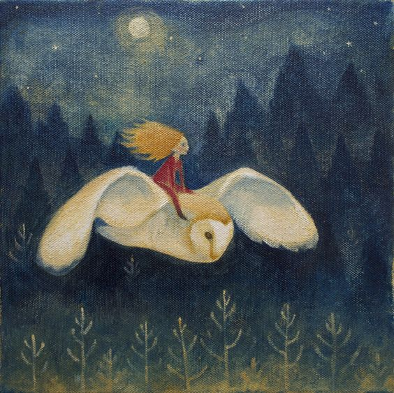 Owl Rider by Lucy Campbell:
