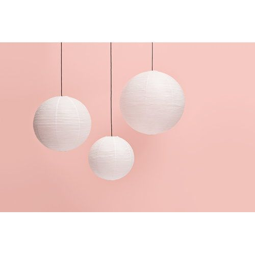 Hay Rice Paper Shades Lighting Paper Lantern Asian Bamboo