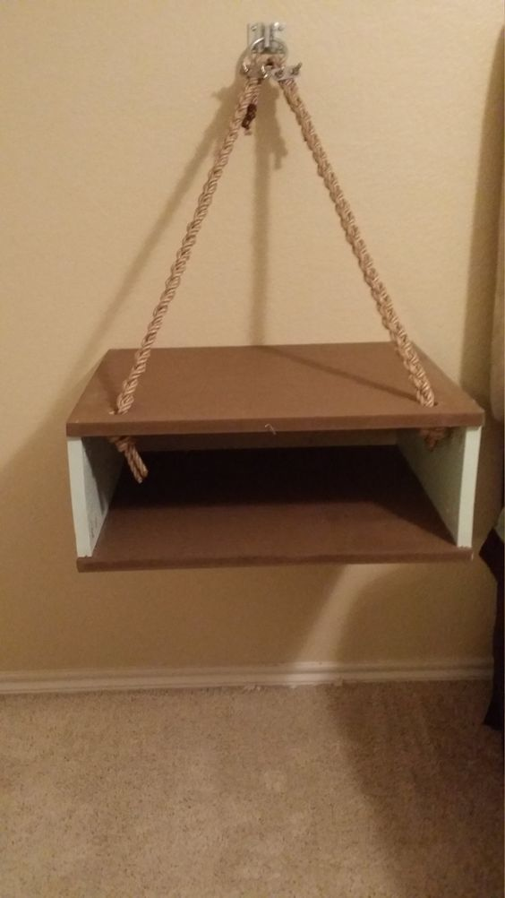 floating end tables by shaff1creations on Etsy