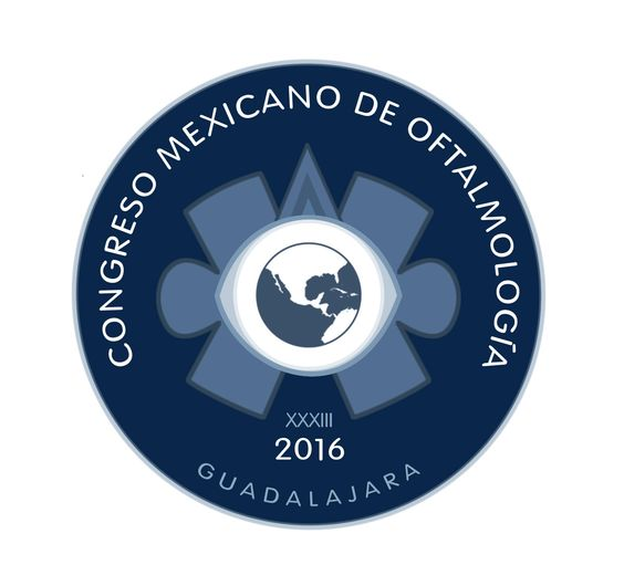 Diseño de Logo, Congreso Mexicano de Oftalmologia.