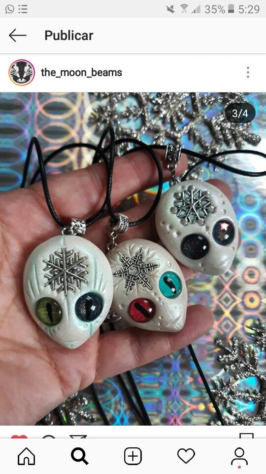 perfect gift for teen girls Funny Skulls in Love Earrings handsculpted from polymer clay