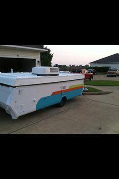 Pop up camper exterior paint scheme                                                                                                                                                                                 More