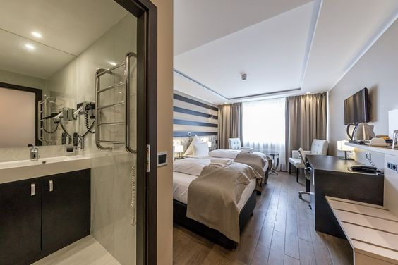Skyline Hotel Fotoshooting Twinroom
