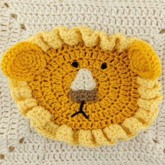 Lions and Tigers and Bears Blanket Crochet Pinterest ...