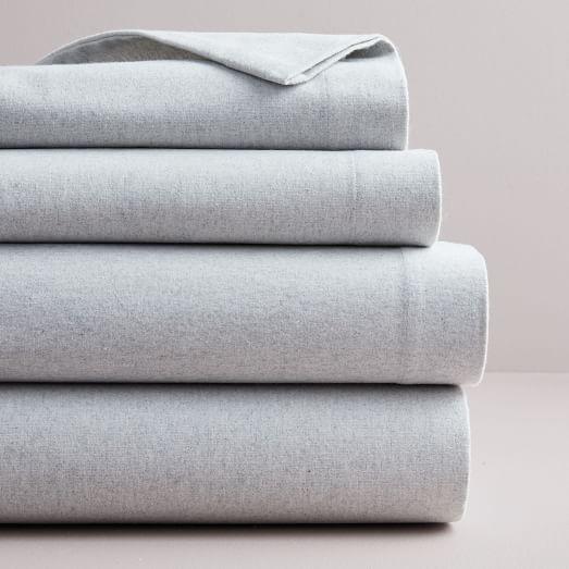 Organic Flannel Herringbone Sheet Set Bed Linens Luxury Bed Linen Design Grey Linen Bedding