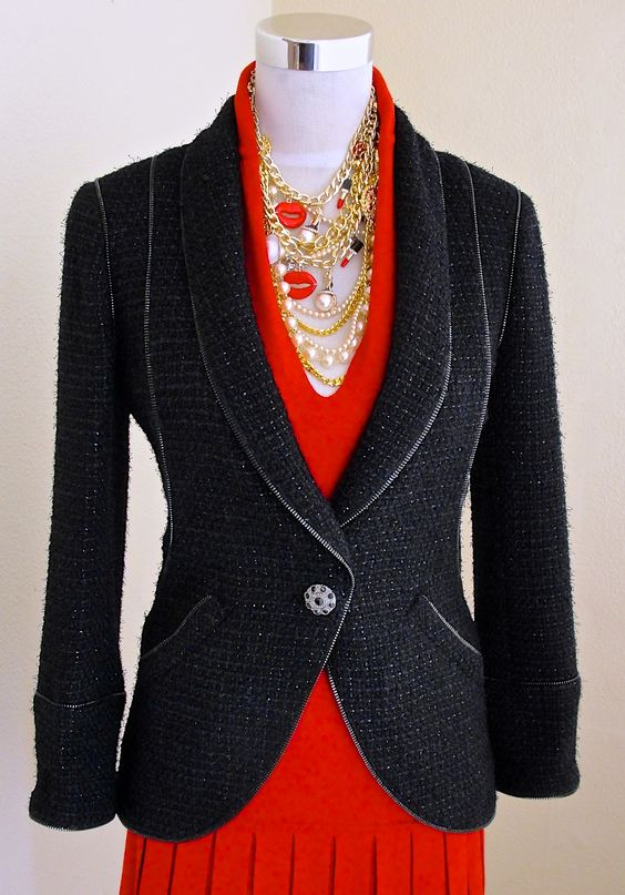 Chanel Jewel Buttons Pre-Fall08 Tweed Jacket