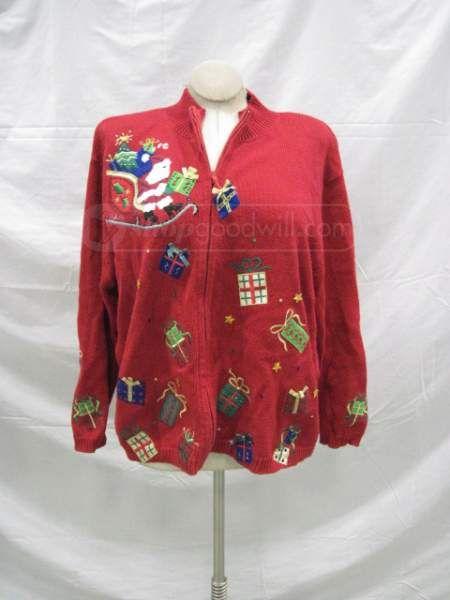 shopgoodwill.com: Dress Barn Multi-colored Sweater Size 1X