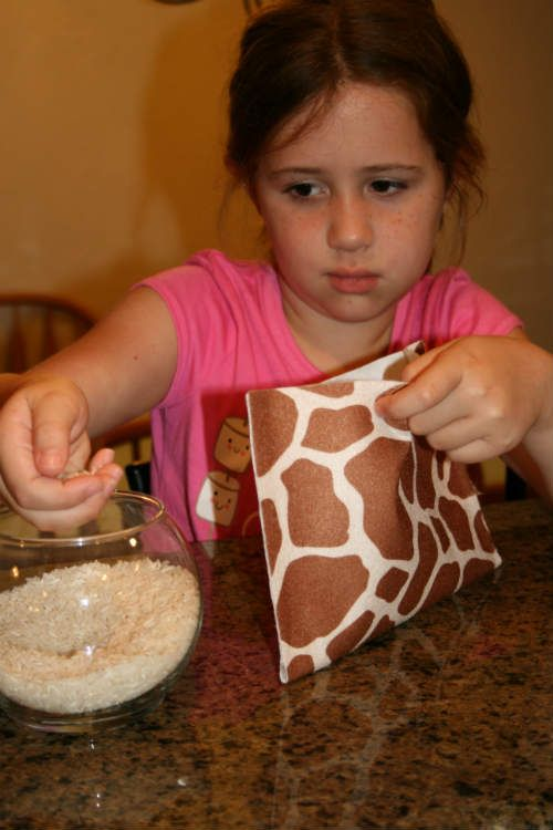 Homemade Heat Pad in Minutes with Kids | Homemade, Heating ...