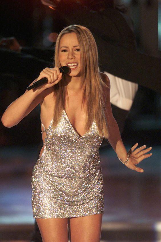 15 moments when mariah carey thought a shirt was a dress - Mariah carey diva ...