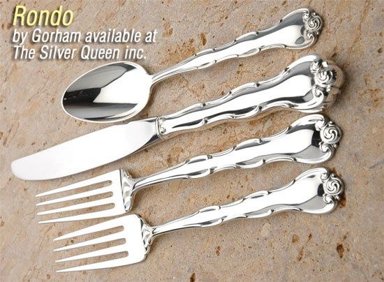 8 Available Excellent  Free ship Sterling Silver Gorham Rondo Iced Tea Spoon s
