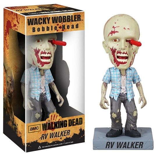 The Walking Dead Wacky Wobbler Bobble-Head RV Walker Zombie 18 cm  Para mais informações clica no seguinte link: http://buff.ly/1offSwx  #ToyArt #Funko #TheWalkingDead #TWD