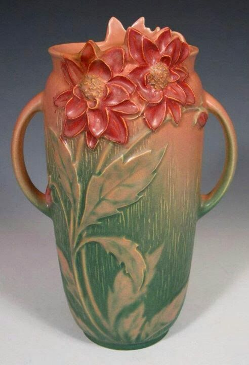 Roseville Pottery --- more beautiful reminders of my grandmother :-):