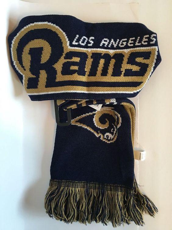 NFL Los Angeles Rams Scarf #NewEra #LosAngelesRams