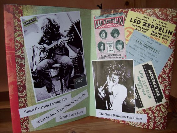 Led Zeppelin mini album  Those where the days................