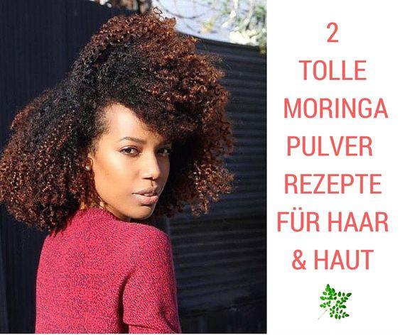 Hast du spröde Haare oder eine trockene Haut? Probiere diese beiden einfachen Moringa Pulver Rezepte aus. Die immense Wirkung ist einfach unglaublich.