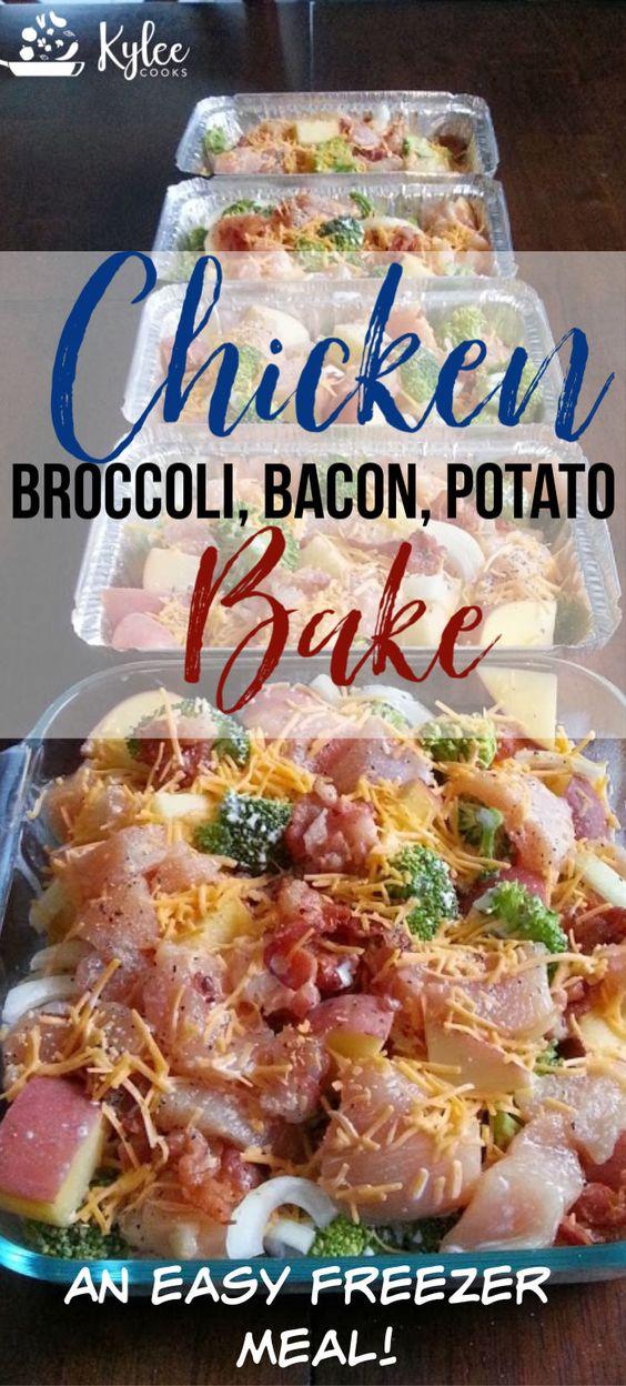 Chicken, Broccoli, Bacon & Potato Bake