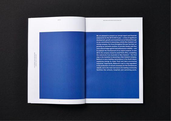 Best Awards - Saatchi & Saatchi Design Worldwide. / Bathurst Annual Report