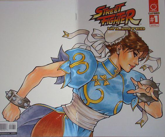Street Fighter Unlimited #1 Chun Li by kate-n-bd