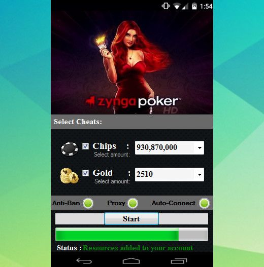 Zynga poker chips adder v3. 013 download.