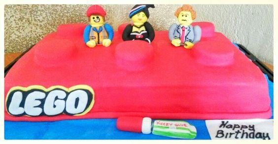 Pastel de lego movie