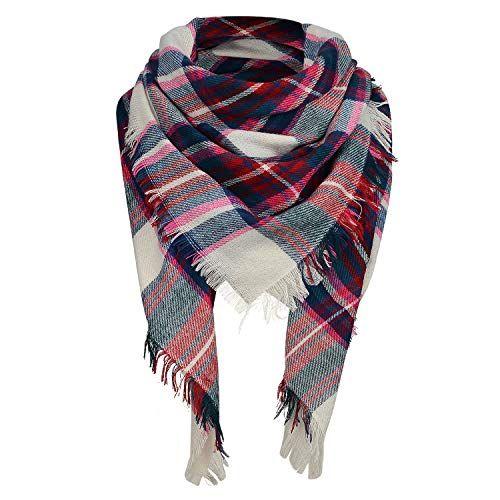 Tartan Check Scarf 100/% Cotton Handmade Thick Warm Winter Lightweight Long PLAID