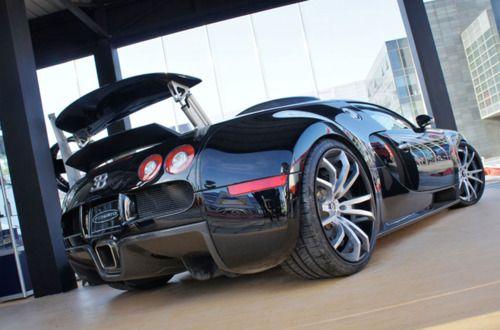 INSANE wheels on Bugatti Veyron