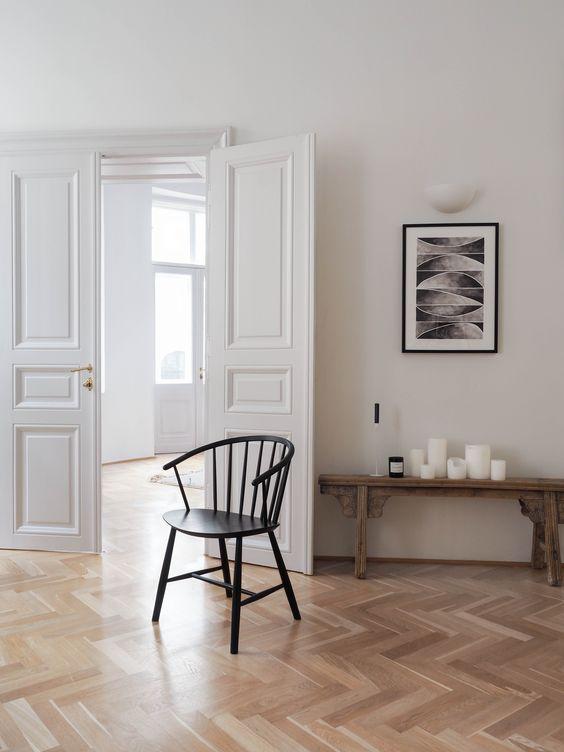 Fredericia J64 Chair – schwarze Windsorstühle für die Küche