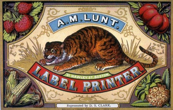 A. M. Lunt   Retro advertising   Vintage poster #Affiches #Retro #Vintage #Ads #Adverts #SXX #deFharo #Publicidad