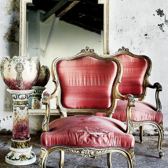 Louis XVI chairs: