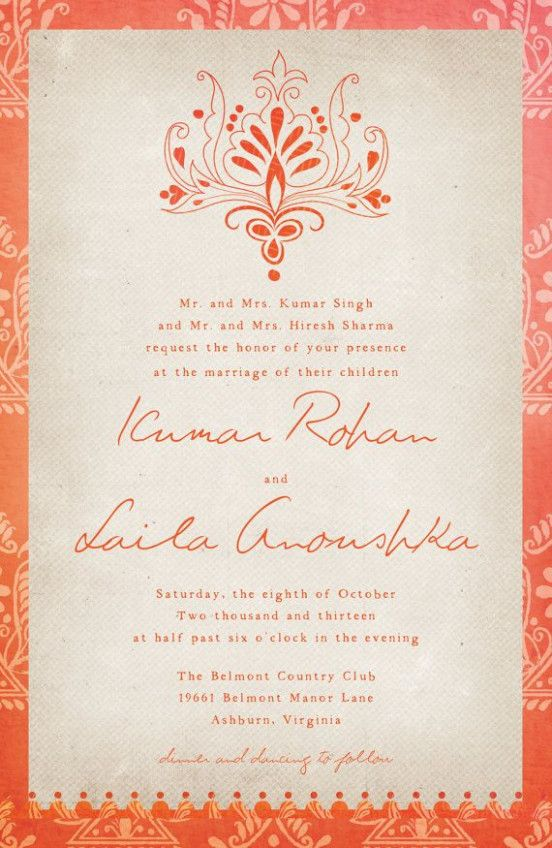 Kerala Wedding Card Invitation Wording Indian Wedding Invitations Wedding Card Design Wedding Cards