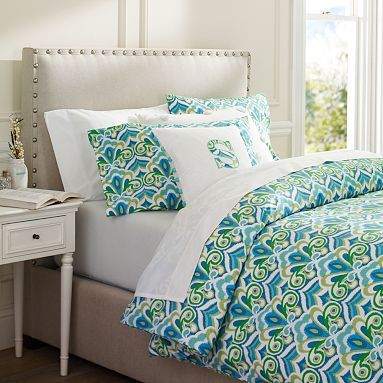 I love the Portofino Duvet Cover & Pillowcases on pbteen.com