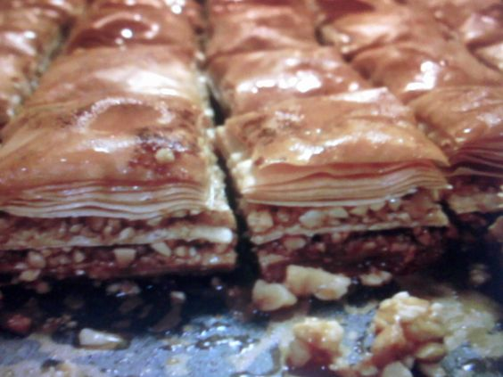 Baklawa marroquí Ver receta: http://www.mis-recetas.org/recetas/show/20029-baklawa-marroqui #dulces
