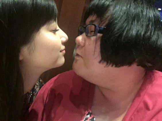 新川優愛のキス顔