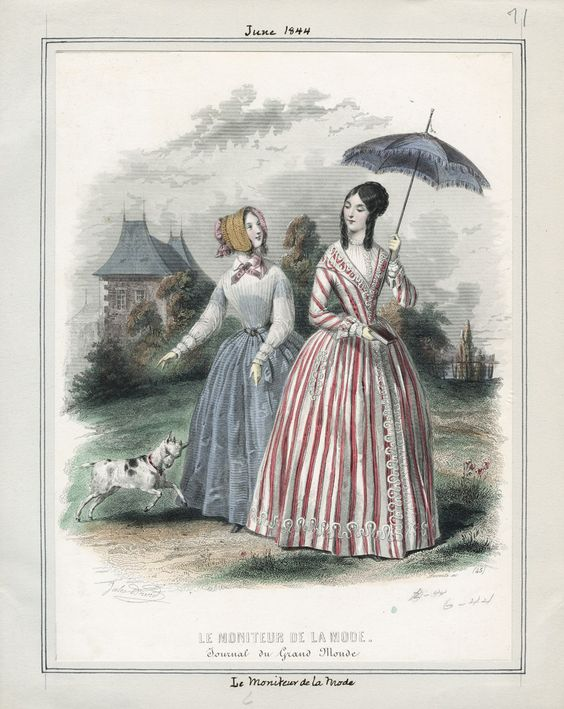 Le Moniteur de la Mode June 1844 LAPL
