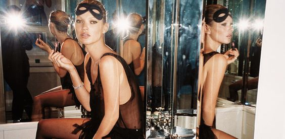 """Mario Testino on meeting Kate Moss when she was 15, crying after her first fashion show: """"Don't worry because in life there is perfume and cologne—cologne you have to put a lot, but my mother used to use perfume, you put just a little drop and it lasts a week'— and I said to her 'you are perfume, you will last forever."""""""