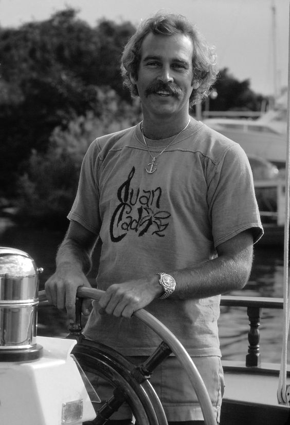 Jimmy Buffett here in 1977, found his muse in Key West. (Tom Corcoran)