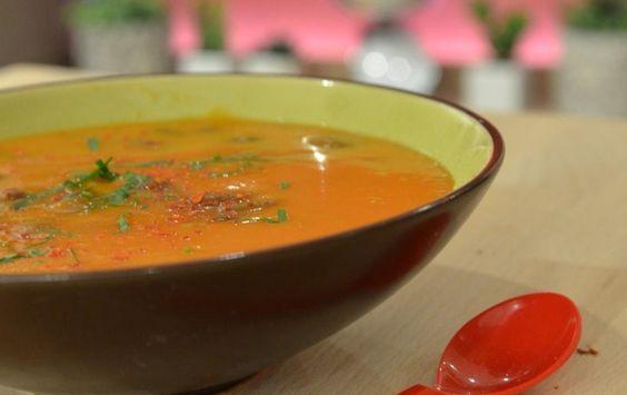 Recette - Soupe mexicaine en vidéo