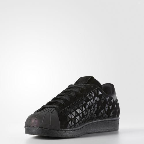 super popular e5a81 45de4 Black   Grey adidas Superstar Shoes with Laces   Grey Triangles   shoes -  adidas   Pinterest   Superstars shoes, Adidas and Adidas shoes